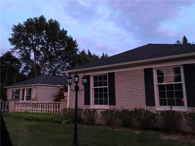 Farmington Hill Single Family Home For Sale: 33641 Brittany