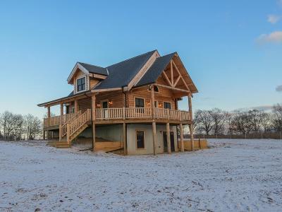 Grass Lake Single Family Home For Sale: 4240 Jacob Rd