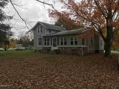 Hillsdale Single Family Home For Sale: 2160 Spring Rd