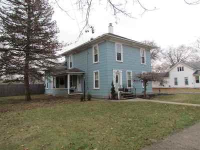 Lenawee County Single Family Home For Sale: 308 W Kilbuck