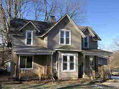 Lenawee County Single Family Home Contingent - Financing: 302 S Talbot