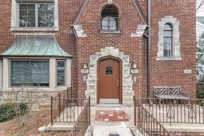 Ann Arbor Condo/Townhouse For Sale: 1913 Geddes Ave