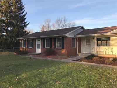 Lenawee County Single Family Home For Sale: 9365 Tonneberger Dr.
