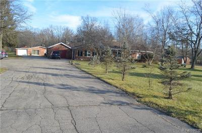 Belleville Single Family Home For Sale: 24061 Sumpter Rd
