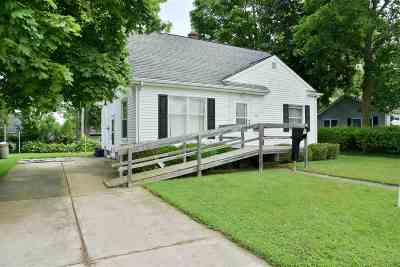 Lenawee County Single Family Home Contingent - Financing: 605 Herrick Park Dr