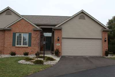 Lenawee County Condo/Townhouse For Sale: 676 Korey's Circle