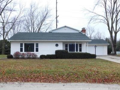 Single Family Home For Sale: 11015 Blaine Rd Rd