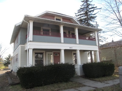 Lenawee County Multi Family Home For Sale: 4011 Monroe Road