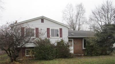 Single Family Home For Sale: 4954 S Inkster Rd