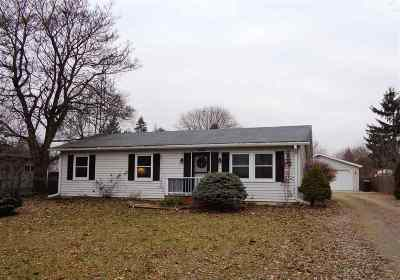 Lenawee County Single Family Home For Sale: 5160 Osburn Dr