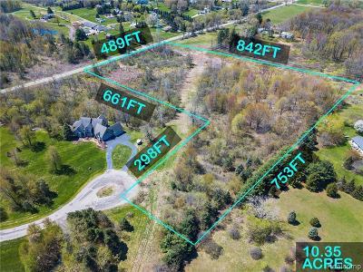 Northville MI Residential Lots & Land For Sale: $225,000