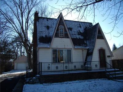 Single Family Home For Sale: 30507 Hennepin St