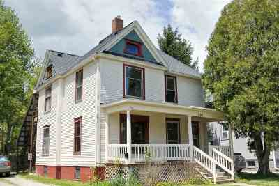 Lenawee County Multi Family Home For Sale: 116 S McKenzie