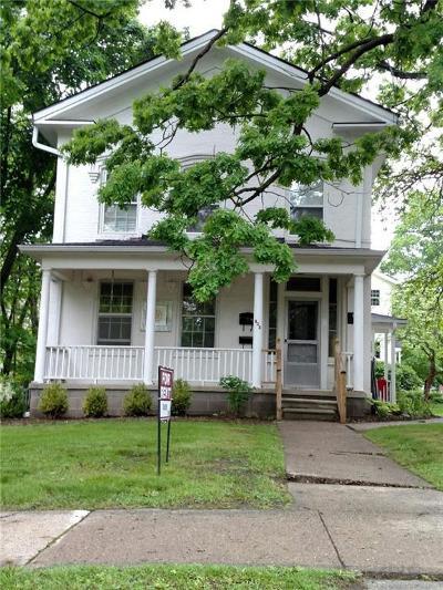 Ann Arbor Single Family Home For Sale: 625 Spring St