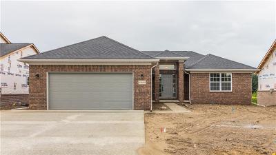 South Lyon Single Family Home For Sale: 55763 Sunningdale Dr