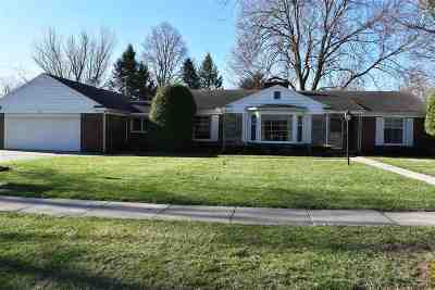 Lenawee County Single Family Home For Sale: 1021 Michigan Ave