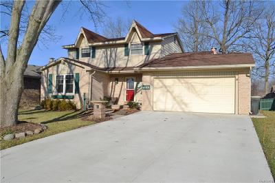 Canton Single Family Home For Sale: 44074 Yorkshire Dr