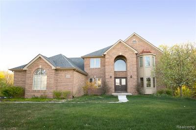 South Lyon Single Family Home For Sale: 23613 Copperwood Dr W