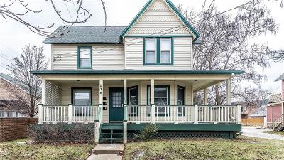 Plymouth Single Family Home For Sale: 876 N Mill St