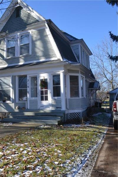 Williamston Single Family Home For Sale: 316 S Putnam St