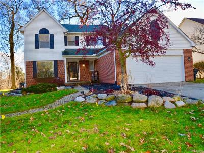 Lake Orion Single Family Home For Sale: 2213 Forest Hills Dr Dr