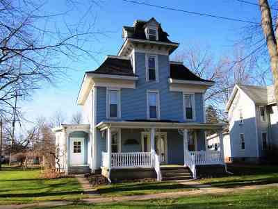 Lenawee County Single Family Home For Sale: 518 Grove Street