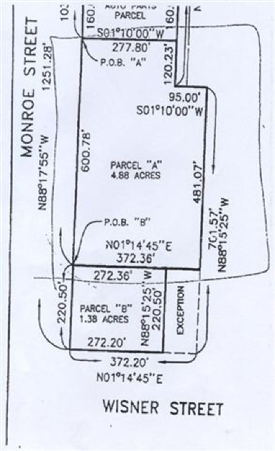 Jackson County Residential Lots & Land For Sale: W Monroe