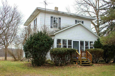 Hillsdale County Single Family Home Contingent - Financing: 12171 Church Rd