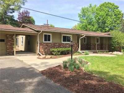 Single Family Home For Sale: 3430 Dorr Rd