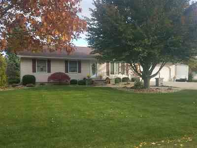 Lenawee County Single Family Home For Sale: 1207 Cherry Dr