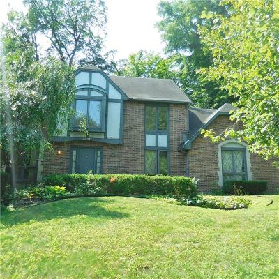 Northville Single Family Home For Sale: 38817 Westchester