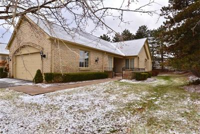West Bloomfield Condo/Townhouse For Sale: 6583 Noble Rd. Rd