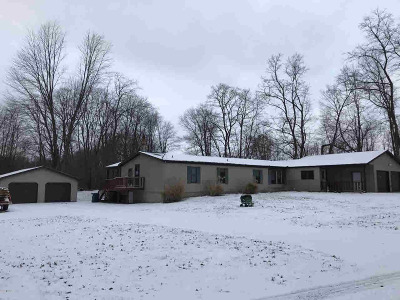 Jonesville Single Family Home For Sale: 8800 Borden Rd