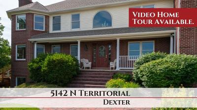 Dexter Single Family Home For Sale: 5142 N Territorial