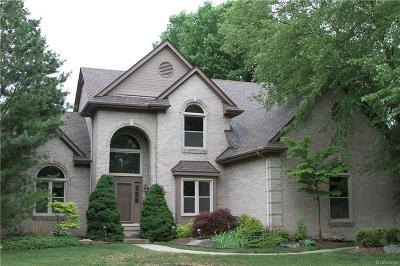Livonia Single Family Home For Sale: 37159 Seabrook Dr
