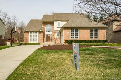 Northville Single Family Home For Sale: 18009 Cascade Dr