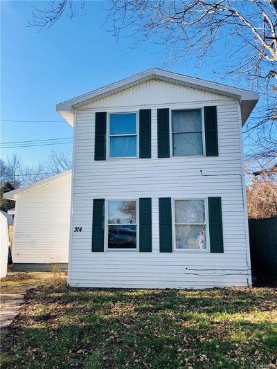 Lansing Single Family Home For Sale: 314 Haze St