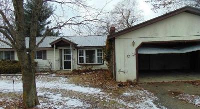 Single Family Home For Sale: 1524 Beach Dr