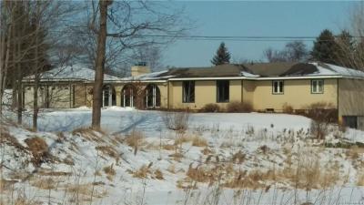 Ann Arbor Single Family Home For Sale: 7681 E Joy Rd
