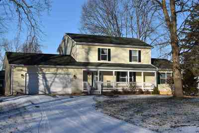 Lenawee County Single Family Home For Sale: 1254 E Oregon Rd