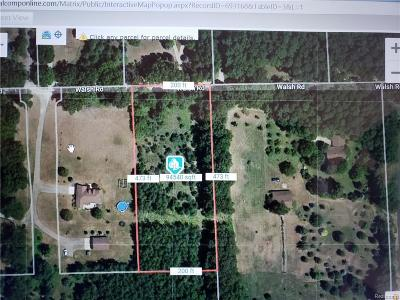 Residential Lots & Land For Sale: 8221 Walsh Rd