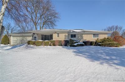 Lake Orion Single Family Home For Sale: 135 Hiram St