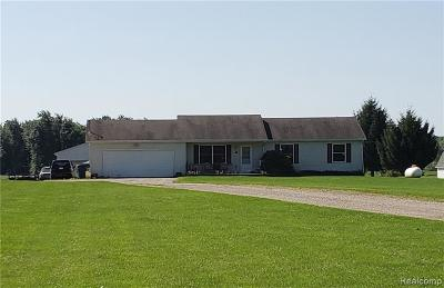 Single Family Home For Sale: 7261 Lovejoy Rd