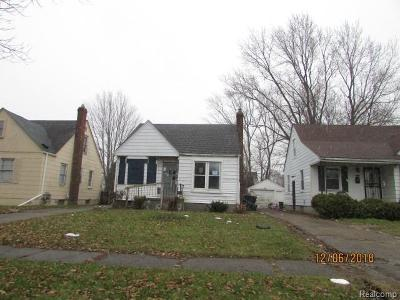Single Family Home For Sale: 15650 Maddelein St