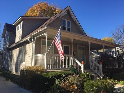 Northville Single Family Home For Sale: 227 West St