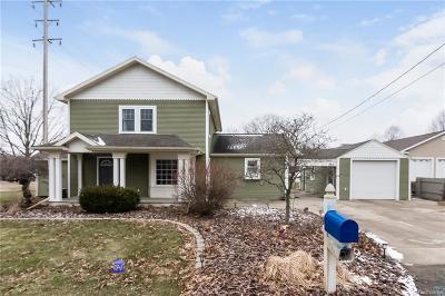 Jackson MI Single Family Home For Sale: $167,500
