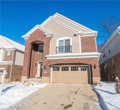 Novi Single Family Home For Sale: 28310 Wolcott Dr