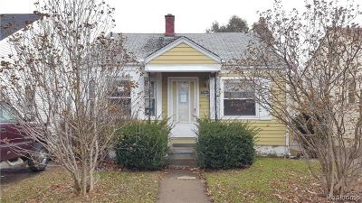 Single Family Home For Sale: 7904 Coleman St