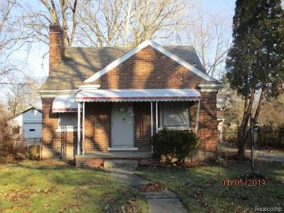 Single Family Home For Sale: 5794 Woodhall St