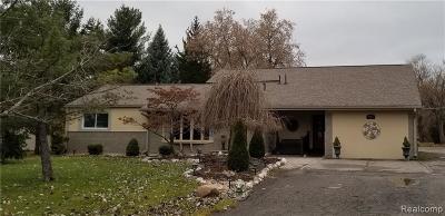 Farmington Hill Single Family Home For Sale: 23065 Canfield Ave